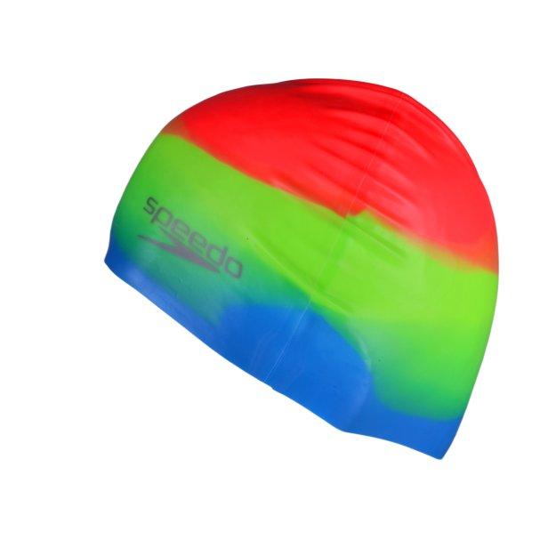 Шапочка для плавания Speedo Multi Colour Silicone Cap Au - фото