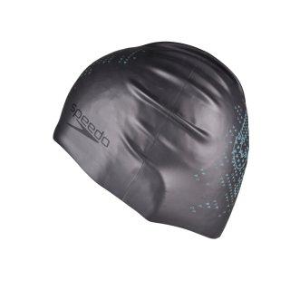 Шапочка для плавания Speedo Reversible Monogram Silicone Cap - фото 1