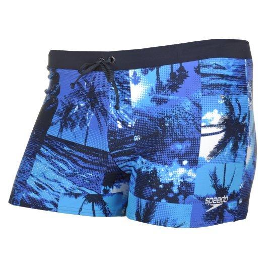 Плавки Speedo Valmilton Aquashort Caribcheck - фото