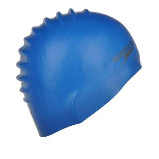 Шапочка для плавания Speedo Plain Moulded Silicone Cap - фото 2