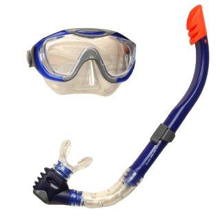 Аксессуары для плавания Speedo Glide Mask, Snorkel & Fin Set - фото 3