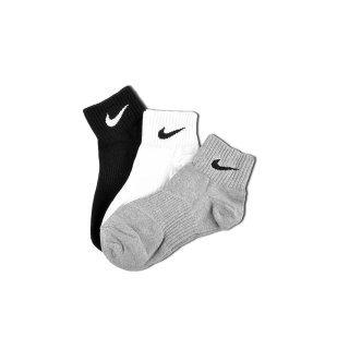 Носки Nike 3ppk Lightweight Quarter (S,M, - фото 1