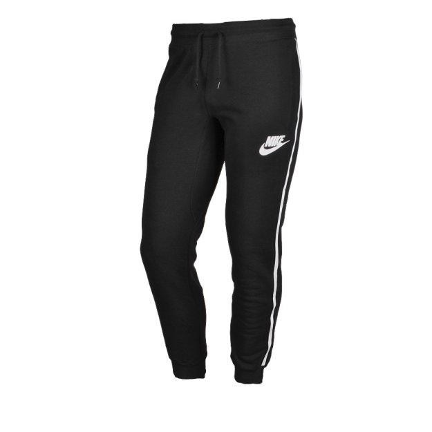 Брюки Nike Ace Cuff Pant-Logo Tape - фото