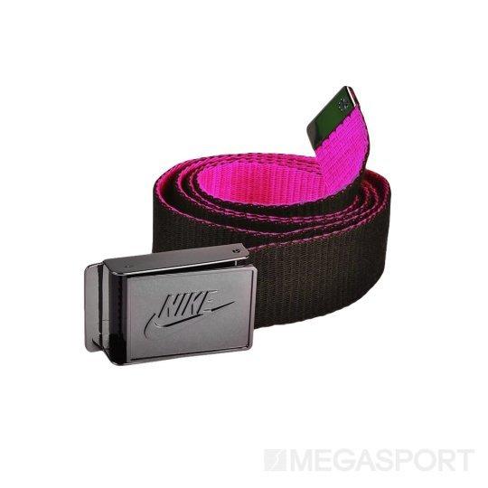 Ремень Nike Sportswear Belt Osfm Black/Blue Hero - фото