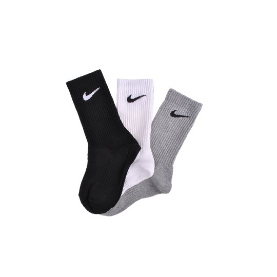 Носки Nike 3PPK Cotton Lightweight Crew W/Moisture Mgt (S,M,L,Xl) - фото