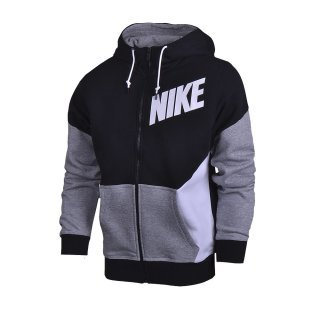 Кофта Nike Club Fz Hoody-New Clrblk - фото 1