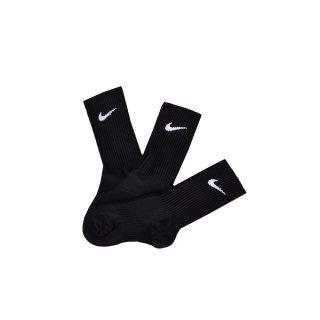 Носки Nike 3ppk Cotton Lightweight Crew W/Moisture Mgt (S,M,L,Xl) - фото 2