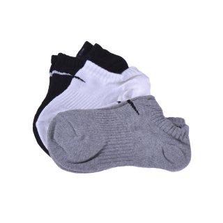 Носки Nike 3PPK Cotton Lightweight No Show W/Moisture Mgt (S,M,L,Xl) - фото 1