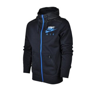 Кофта Nike Aw77 Flc Fz Hoody-Hybrid - фото 1