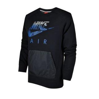 Кофта Nike Aw77 Flc Crew-Hybrid - фото 1