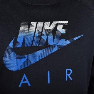 Кофта Nike Aw77 Flc Crew-Hybrid - фото 3