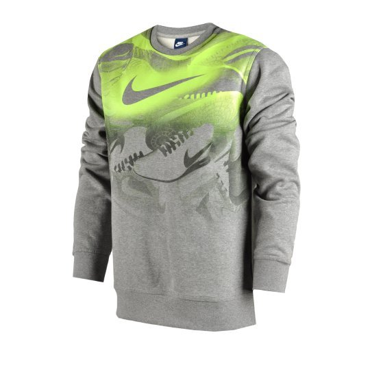 Кофта Nike Club Flc Crew-Sneaker - фото