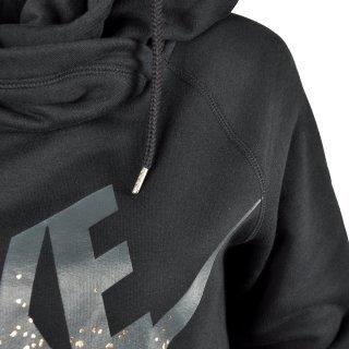 Кофта Nike Rally Funnel-Metal - фото 3
