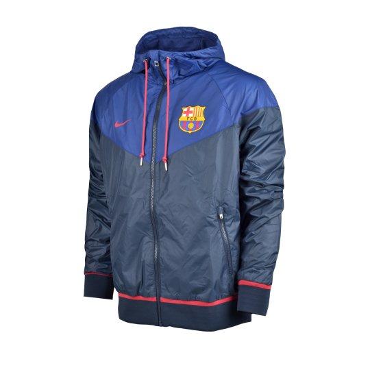 Куртка-ветровка Nike Fcb Auth Windrunner - фото