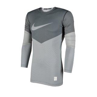Футболка Nike Hyperwarm Df Mx Comp Lines Ls - фото 1