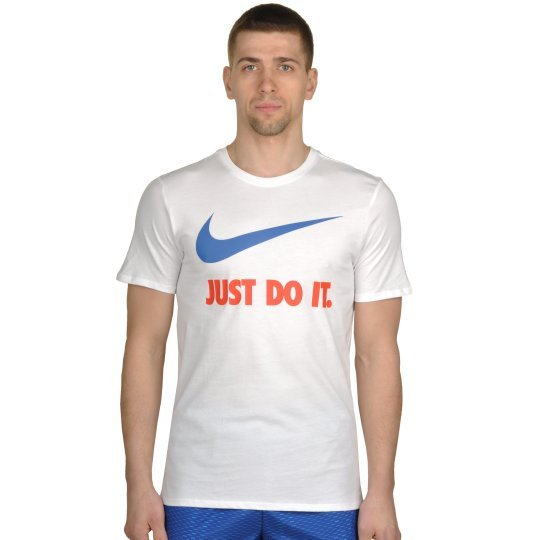 Футболка Nike Tee-New Jdi Swoosh - фото