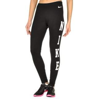 Леггинсы Nike Club Legging-Logo - фото 1