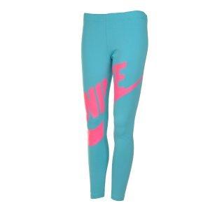 Леггинсы Nike Leg-A-See Futura Gfx Tight Yth - фото 1