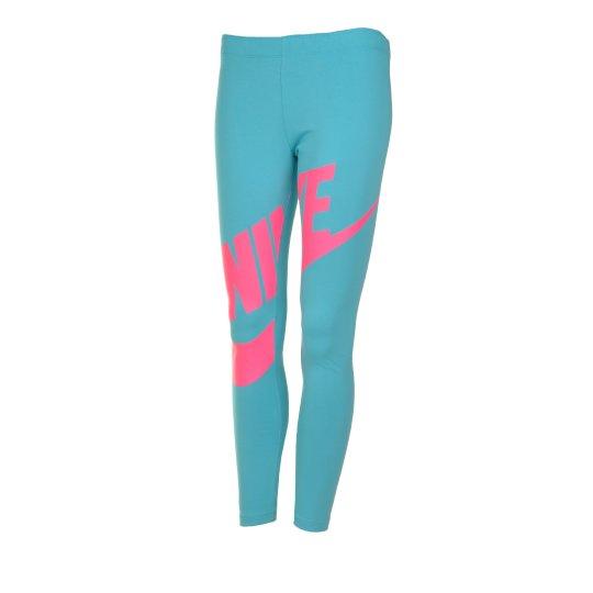 Леггинсы Nike Leg-A-See Futura Gfx Tight Yth - фото