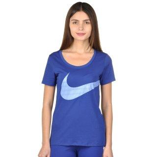 Футболка Nike Dri-Fit Scoop Ex Swoosh Tee - фото 1