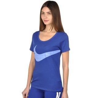 Футболка Nike Dri-Fit Scoop Ex Swoosh Tee - фото 2