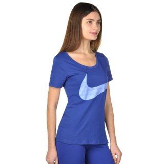 Футболка Nike Dri-Fit Scoop Ex Swoosh Tee - фото 4