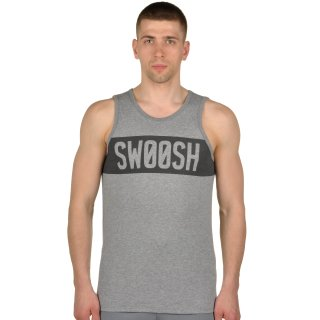 Майка Nike Dfct Swoosh Block Tank - фото 1