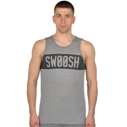 Майка Nike Dfct Swoosh Block Tank - фото