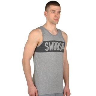 Майка Nike Dfct Swoosh Block Tank - фото 4