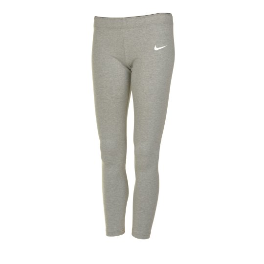 Леггинсы Nike Club Legging - Logo Yth - фото
