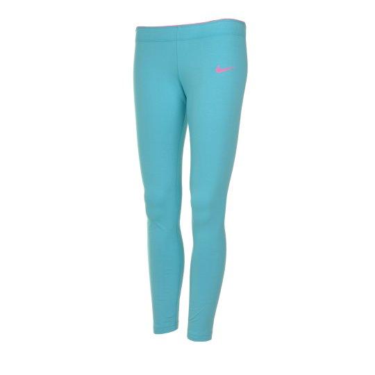 Леггинсы Nike Club Legging - Logo Yth - фото