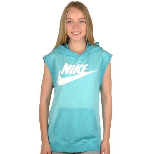 Футболка Nike Sleeveless Po Hoody-Wash - фото