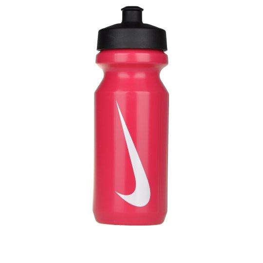 Бутылка Nike Big Mouth Water Bottle  Vivid Pink/White - фото