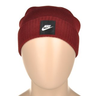 Шапка Nike Futura Beanie - Red - фото 5