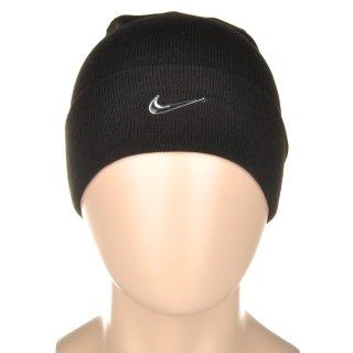 Шапка Nike Swoosh Beanie - Blue - фото 5