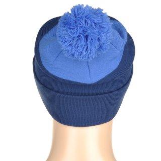 Шапка Nike Pom Beanie - Blue - фото 3