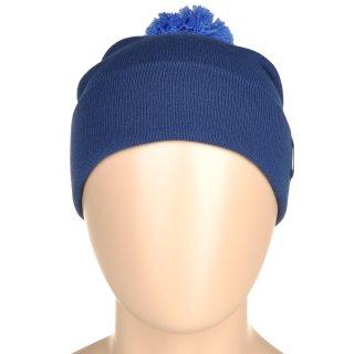 Шапка Nike Pom Beanie - Blue - фото 5