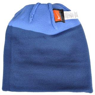 Шапка Nike Pom Beanie - Blue - фото 6