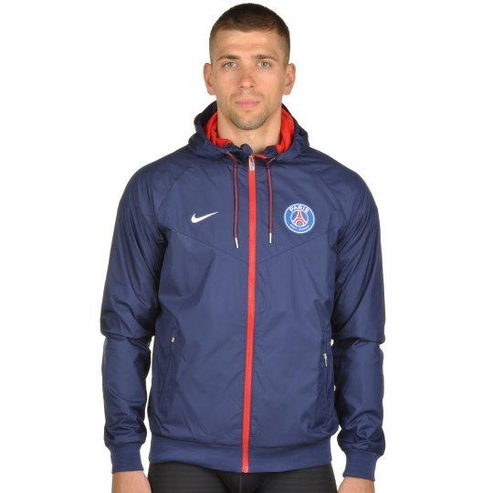 Куртка-ветровка Nike Men's Paris Saint-Germain Authentic Windrunner Jacket - фото
