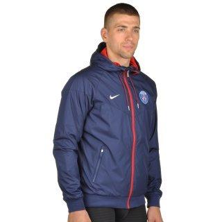 Куртка-ветровка Nike Men's Paris Saint-Germain Authentic Windrunner Jacket - фото 4