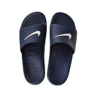 Сланцы Nike Men's Benassi Shower Slide Sandal - фото 3
