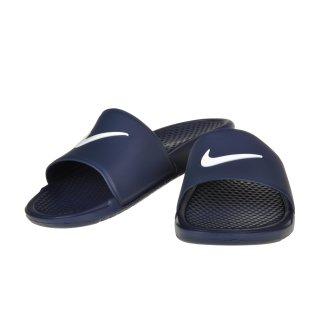 Сланцы Nike Men's Benassi Shower Slide Sandal - фото 4