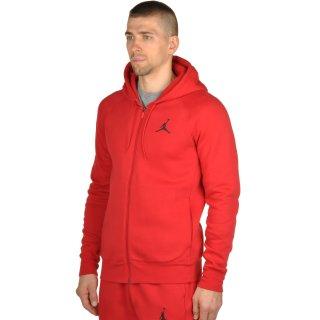Кофта Nike Men's Jordan Flight Fleece Full-Zip Hoodie - фото 2