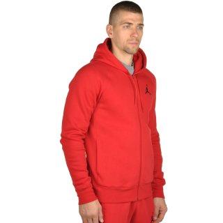 Кофта Nike Men's Jordan Flight Fleece Full-Zip Hoodie - фото 4
