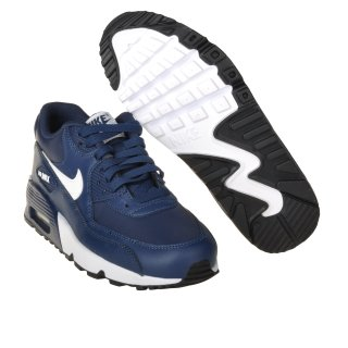 Кроссовки Nike Boys' Air Max 90 Leather (Gs) Shoe - фото 3