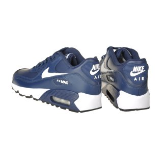 Кроссовки Nike Boys' Air Max 90 Leather (Gs) Shoe - фото 4
