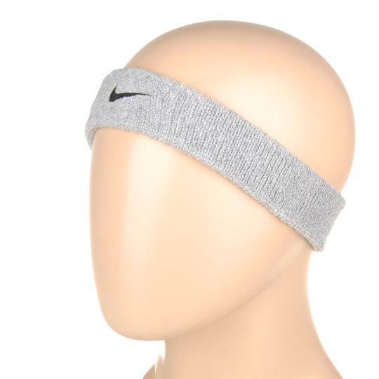 Аксессуары для тренировок Nike Swoosh Headband Grey Heather/Black - фото