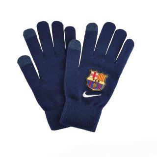 Перчатки Nike Fcb Supporter Knitted Tech Gloves S/M Loyal Blue/White - фото 1