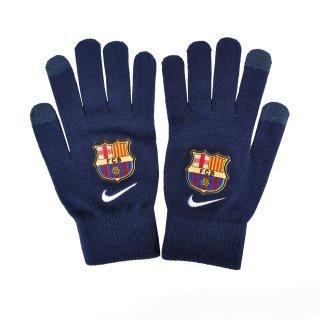 Перчатки Nike Fcb Supporter Knitted Tech Gloves S/M Loyal Blue/White - фото 3