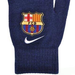 Перчатки Nike Fcb Supporter Knitted Tech Gloves S/M Loyal Blue/White - фото 4
